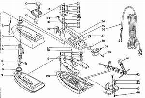 Rowenta Iron Diagram