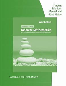 Student Solutions Manual And Study Guide For Epp U0026 39 S