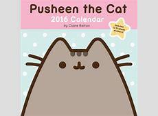 Pusheen The Cat 2016 Wall Calendar Calendar Club