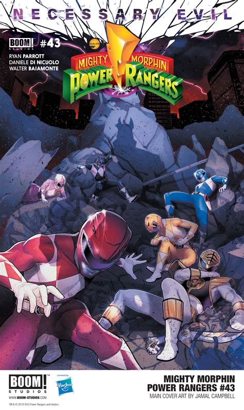 MIGHTY MORPHIN POWER RANGERS #43 First Look