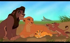 Kovu and Kiara with cubs | Disney