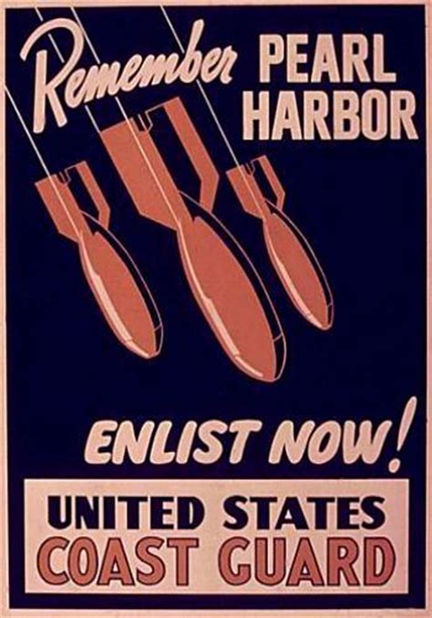 posters artwork documents enlistment  coast guard