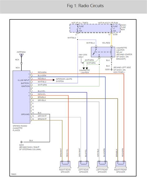 Radio Wiring Diagram Have Trying