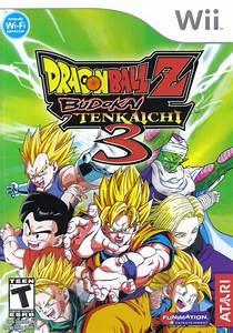 Dragon Ball Z: Budokai Tenkaichi 3 Box Shot for Wii - GameFAQs