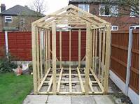 how to build a garden shed How To Build A Shed On Skids | Shed Blueprints
