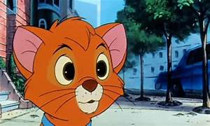 oliver and company orange kitten gif | WiffleGif