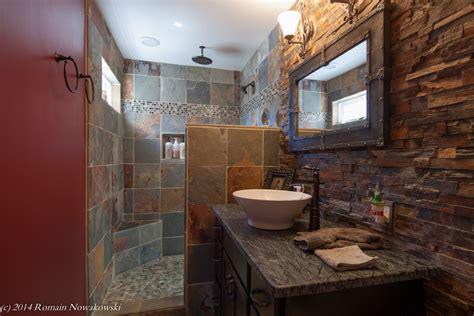 delta shower bathroom modern with cosmetics