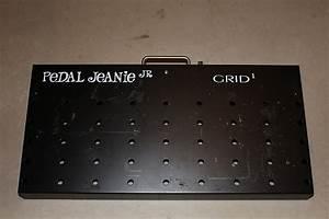 Grid 1 Pedal Jeanie Jr Rechargeable Pedalboard 2011 Black