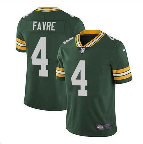 Brett Favre 4 Green Bay Packers Limited Player Jersey Men
