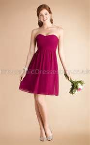 fuchsia bridesmaid dress a line sleeveless sweetheart fuchsia chiffon mini bridesmaid dresses ukbd03 781