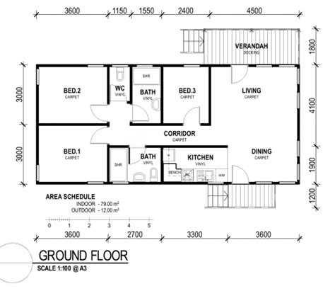 Small 3 Bedroom House Plan August 2019 House Floor Plans