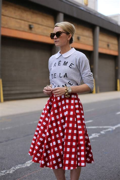 Graphic Gingham #Sweaters #Graphic #Skirts #Sunglasses | Street Style | Pinterest | Gingham ...