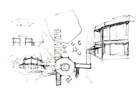 Geschosswohnungen In Graz by Werkgruppe Graz Das Poetische L 228 Cheln Der Architekturskizze