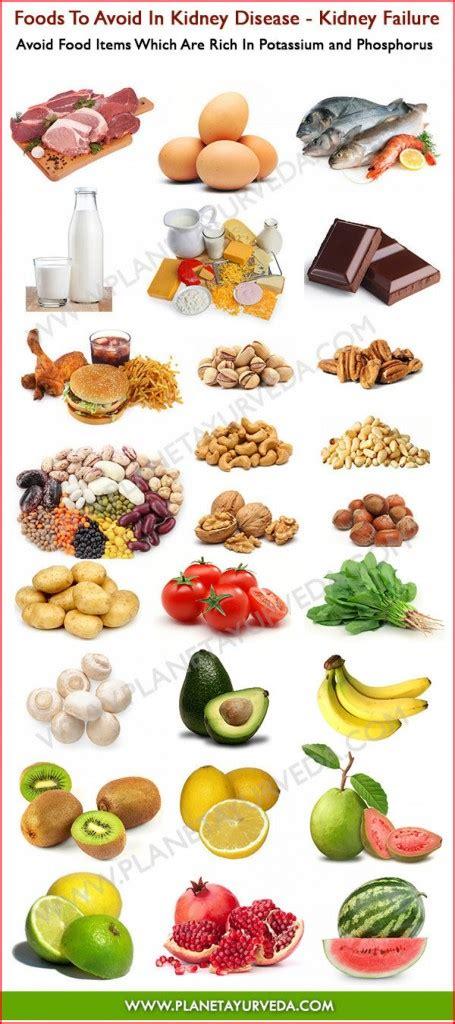 foods  avoid  kidney disease infographic