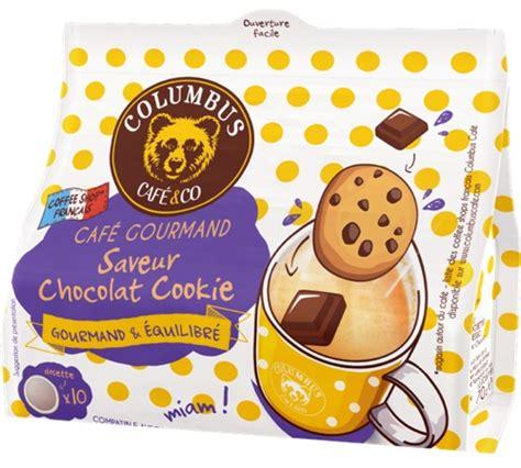 10 dosettes souples chocolat cookis columbus