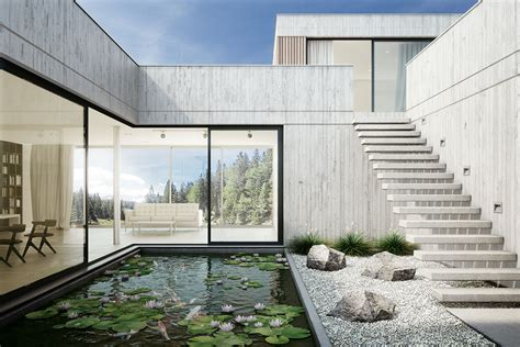 Innenansicht  3d Visualisierung Rendering Architektur