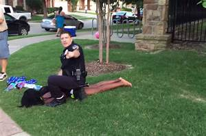 Disturbing Video Shows Officer Tackling, Pulling Gun on ...
