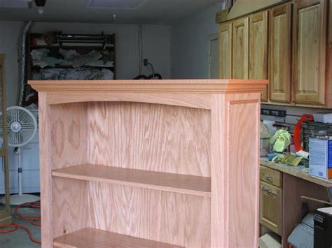 oak bookcase plans plans diy   yard bridges