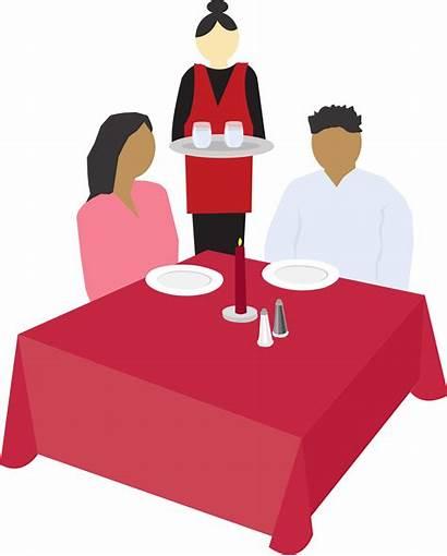 Clip Dining Clipart Eat Svg Restaurants Couple