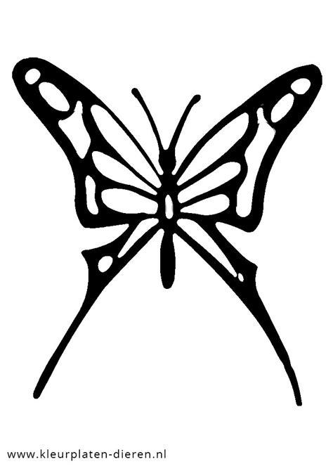 Kleurplaat Vlinder Met Hartjes by Kleurplaten Vlinders Hartjes