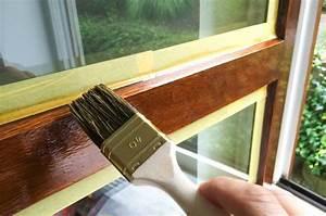 Peinture Encadrement Fenetre Interieur : peindre une fen tre en bois ~ Premium-room.com Idées de Décoration