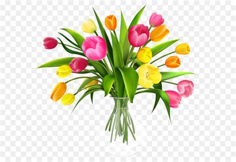 fiore clipart tulip bouquet di fiori clip vaso con tulipani png