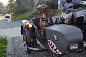 I let the sidecar do my talking. I just enjoy the ride ...