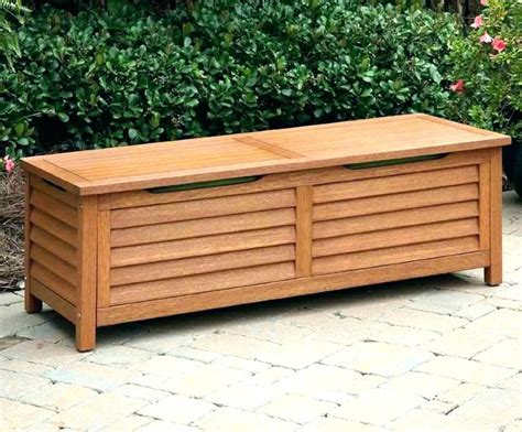 wood bench seat ideas outdoor plans tree chairs storage