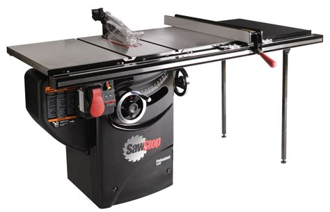 table saw stops dog sawstop professional cabinet tablesaw pcs