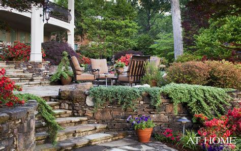 backyard oasis designed  landscape associates creeping