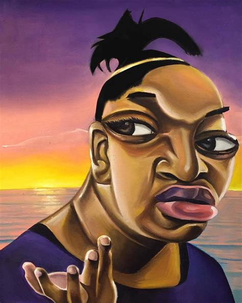 Meme Painting - alim smith is turning iconic black memes into picasso inspired art