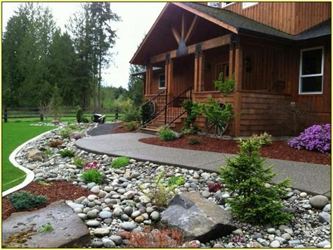 landscaping on beautiful landscaping ideas for front yard with rocks