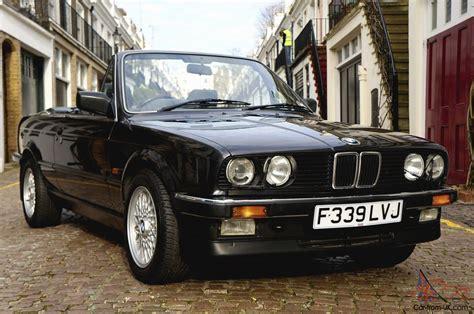 Bmw E30 325i Convertible (1989