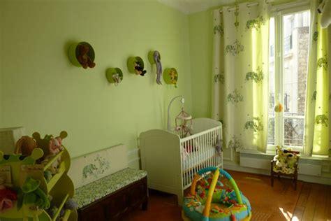 chambre bébé verte style idée déco chambre bébé vert
