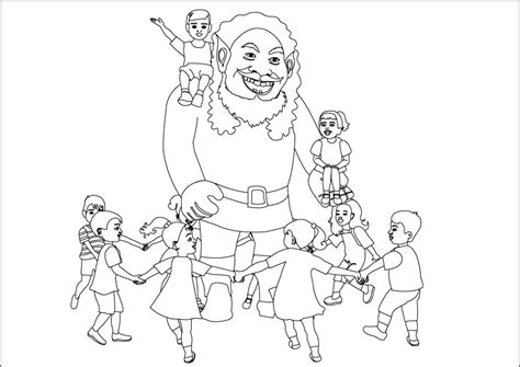 giant coloring page eskayalitim