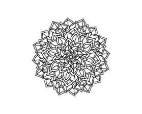 Transparent Mandala Design