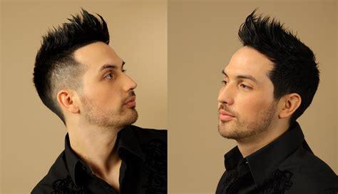 mohawk hairstyle  buzzed sides  buzz cut neckline