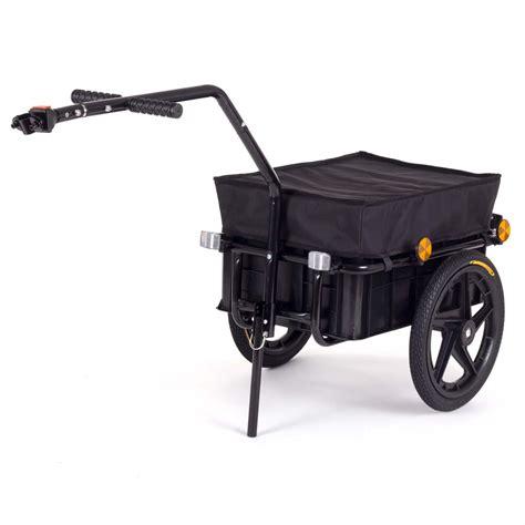 elastique bureau samax remorque de vélo chariot de transport pour 60 kg