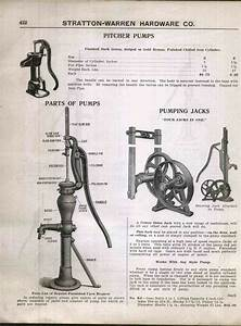 1920s Ad Hand  U0026 Windmill Water Pump Stands Parts Diagram Pitmans Pumping Jacks
