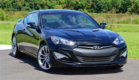 Hyundai Genesis Coupe Track by 2013 Hyundai Genesis Coupe 3 8 Track Driving Impressions