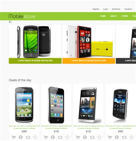 Best Ecommerce Template 25 Best Ecommerce Html5 Templates Themes