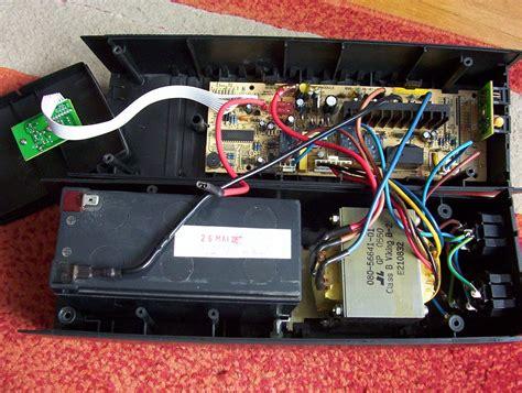 onduleur pc bureau onduleur avec vieille batterie de voiture bricolsec