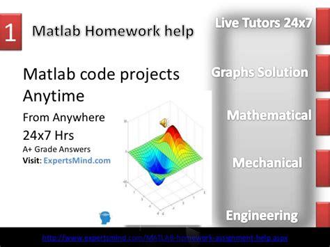 Matlab Assignment Help, Matlab Homework Help, Expertsmind.com