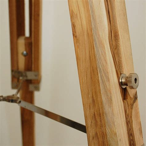 wooden floor l base natural wood tripod floor l base by quirk