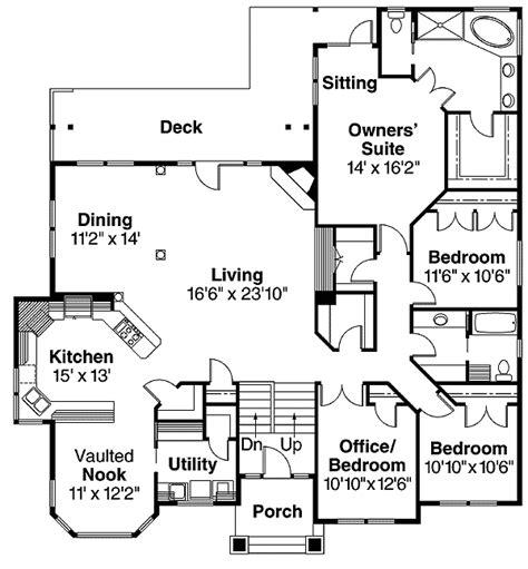 beautiful split level home plan da architectural