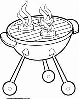 Grill Clipart Hamburger Cookout Cartoon Cliparts Bbq Clip Transparent Coloring Barbecue Appliance Cooking Bakeware Cookware Hamburgers Lid Webcomicms Stool Clipartmag sketch template