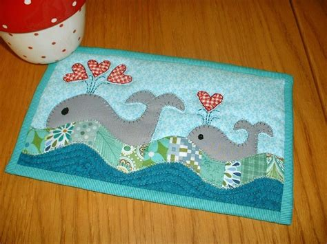 whale quilt pattern whales mug rug by the patchsmith craftsy