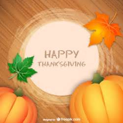 happy thanksgiving greeting card vector free