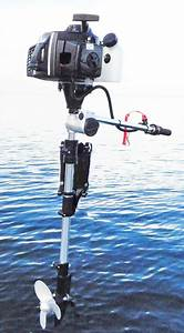 3 5hp Outboard  2 Cycle - Small Outboard Motors