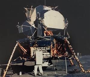 NASA/Neil Armstrong - Apollo 11 - Lunar Module and Aldrin ...